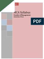 Final Mca 2014 Syllabus-2feb2014