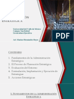 Administración Estatégica - Parte 1