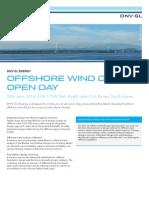 DNVGL_Offshore open day Busan_2014-06-20_Flyer+Agenda