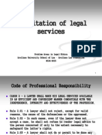 Solicitation of Legal Services