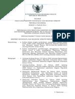 Permen Parekraf No_6 Tahun 2014 Ttg Perubahan Atas Peraturan Menteri Pariwisata Dan Ekonomi Kreatif Nomor Pm_53 Hm_001 Mpek 2013 Tentang Standar Usaha Hotel