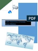water booklet task