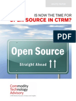Is Now the Time for Open Source in CTRM
