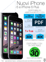 Novità Offerta iPhone 6 e 6 Plus