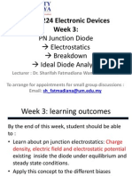Lecture 3-PN Junction