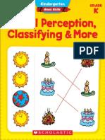 PreK Visual Perception Classifying & More
