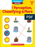 PreK Visual Perception Classifying & More