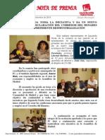 IU Toma La Iniciativa y Da Un Nuevo Impulso a La Declaración Del Corredor Como Zona de Preferente Reindustrialización