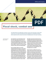Fiscal Shock Combat Awe