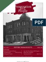 Preservation & People (PM Newsletter), Spring 2002