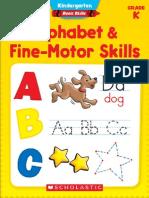 Alphabet & Fine Motor Skills