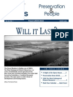 Preservation & People (PM Newsletter), Winter 2005