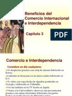 Principios de Economía, Mankiw Capítulo 3; Beneficios Del Comercio Internacional e Interdependencia