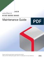 Canon iR Adv 8105 Maintenance Guide