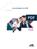 How to Create and Manage Your PCM Instances