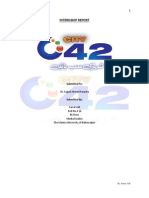 Internship Report at City42