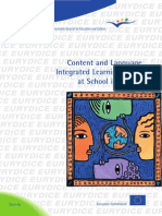 Clil at School in Europe En