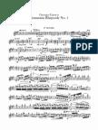 Enescu - Rapsodia Romana Vioara 1