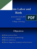 Preterm Labor