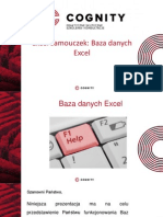Cognity Kurs Excel - baza danych excel.pptx
