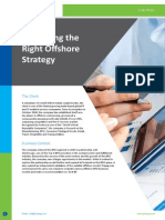 CS-Evaluating the Right Offshore Strategy