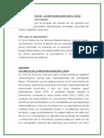 Historia de La Meteorologia en El Peru Modificado 1