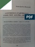 1999 SPERLEA Controlul Partidului Comunist Asupra Armatei