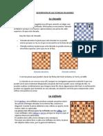 Descripcion de Las Tecnicas en Ajedrez
