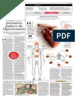 Uno de Cada Tres Peruanos Sufre de Hipertensión