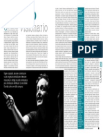«Classico visionario» by Mario Messinis in «Classic voice», nos. 182-183, July-August 2014, p.32-33