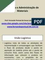 Logística e Administração de Materiais Baseado No POZO
