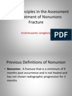 General Principles in the Assessment and Treatment of Nonunions Fracture