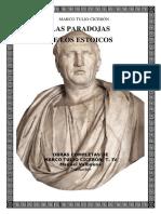 Ciceron, Marco Tulio - Las Paradojas de Los Estoicos (Bilingue)