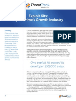 Exploit Kits - Cybercrime's Growth Industry