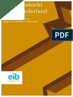 EIB Kantorenmonitor Noord Nederland 2012