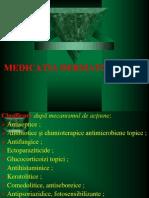 MEDICATIA DERMATOLOGICA