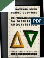 Glossário - Os Fundamentos Da Disciplina Arquivística (1)