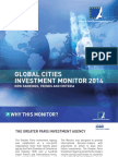 BROCHURE GLOBAL CITIES 2014