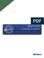 VersaWorks Profiling | Printer (Computing) | Graphic Design
