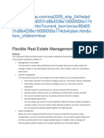Flexible Real Estate Management