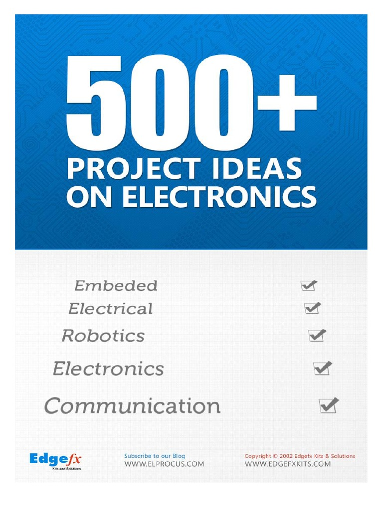 500 Electronics Project Ideas1 Embedded System Security Alarm Robot Hobby Circuits Free Electronic Circuit Robotics