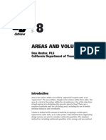 Land Areas and Volumes calculation