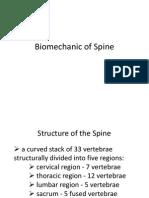 Biomechanic of Spine