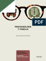 Nicolò Psicoanalisis y Familia Indice