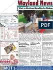 The Wayland News October 2014