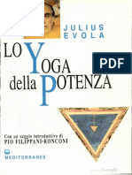 Evola Julius Lo Yoga della Potenza Saggio Sui Tantra
