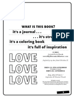 Mandala Coloring Book Journal Book