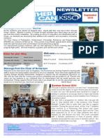 Kingsbury Newsletter Sep 2014