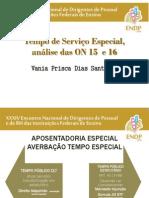 Tempo de Servico ONs - Vania Prisca