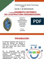 Funcionamiento Sistemico del Organigrama en una Empresa
